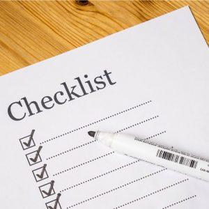 seo checklist bloggers