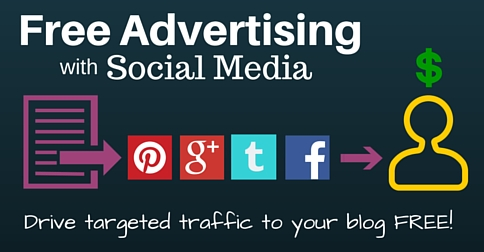 free advertising with social media