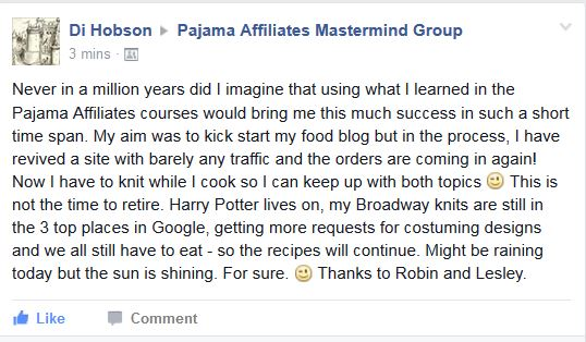 Pajama affiliate testimony