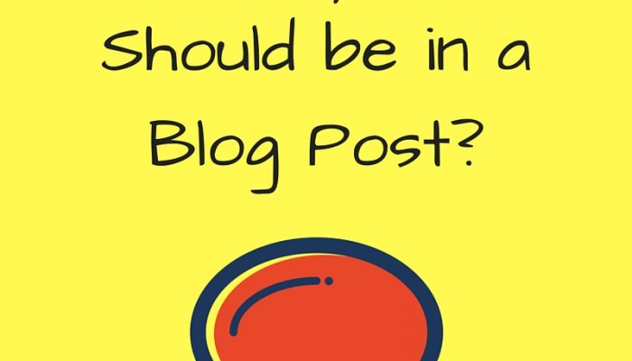 How Many Words Should be in a Blog Post?