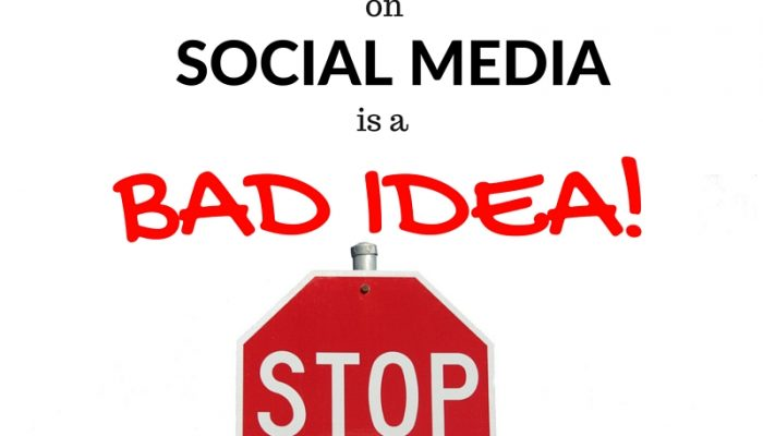 Why Affiliate Marketing on Social Media is A BAD IDEA!