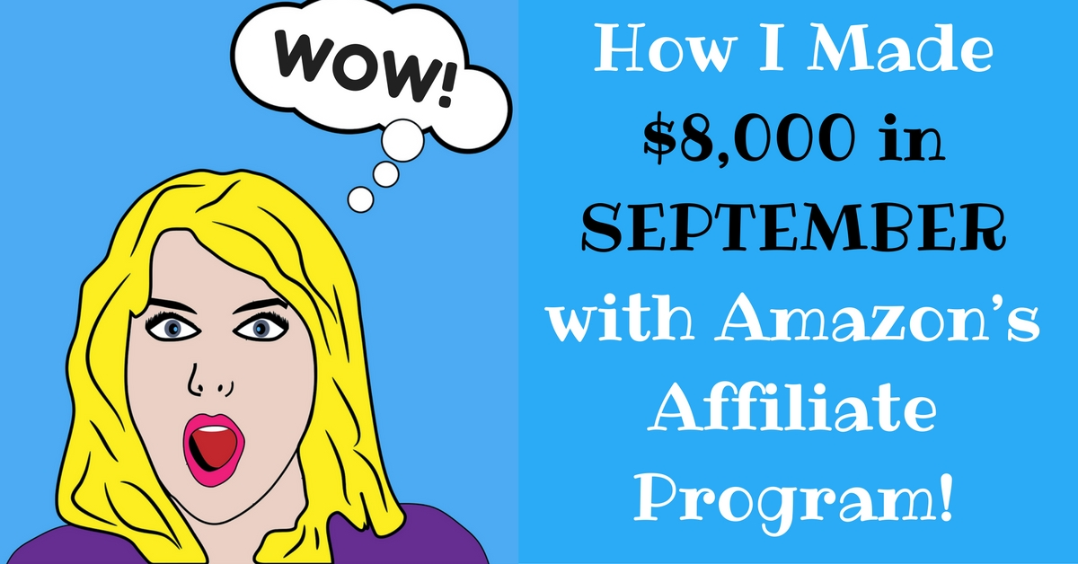 blogging income report with amazon