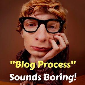 blog creation process
