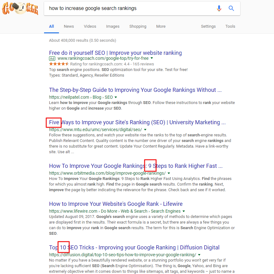 How to increase SEO ranking free! 3 tips to help you improve your search results free!