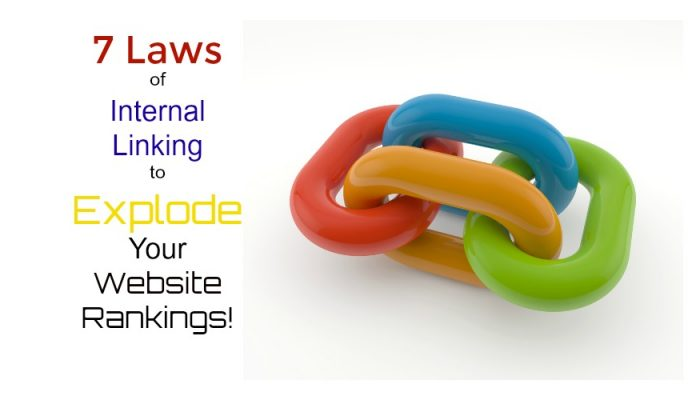 7 Laws of Internal Linking for Seo to Explode Ranking!